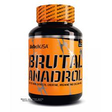 BioTech USA Brutal Anadrol 90 caps TST booster AAKG testosterone free P