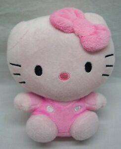 TY-Sanrio-HELLO-KITTY-ALL-PINK-5-034-Plush-STUFFED-ANIMAL-TOY-2014