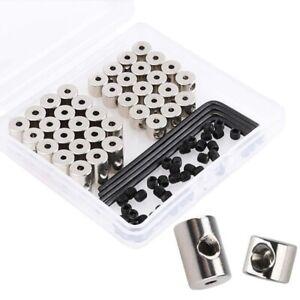 40PCS-Locking-Pin-Backs-Metal-Pin-Keepers-Locking-Clasp-Pin-Backs-Replace-X2D4