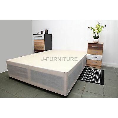 2ft6,3ft Single,4ft,4ft6 Double,5ft King Size Bed Base in White.Choose Storage.