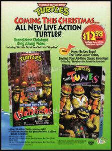 Teenage Mutant Ninja Turtles__Original 1994 Trade AD / ADVERT__ Live Action_TMNT