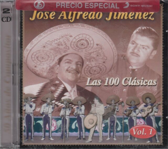 Jose Alfredo Jimenez Las 100 Clasicas Vol 1 New sealed 2CD Nuevo