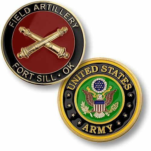 U.S. Army / Field Artillery, Fort Sill - Challenge Coin