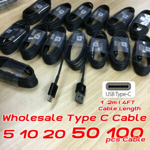 Samsung-S8-USB-Type-C-Cable-Fast-Charging-Cord-For-Galaxy-S9-S10-Note-8-9-Lot