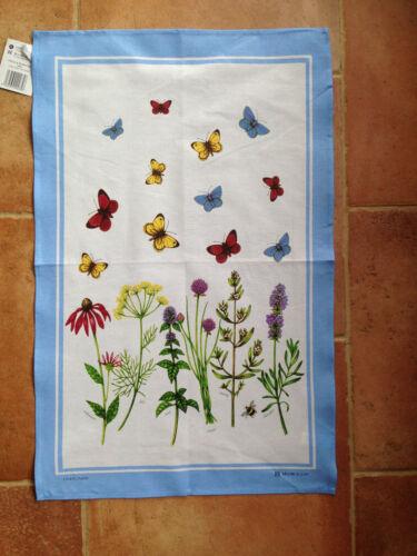 Mccaw allen lin union torchon-herbes /& papillons