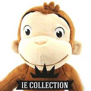 CURIOSO-COME-GEORGE-PELUCHE-30-CM-pupazzo-cartone-dvd-plush-Curious-doll-scimmia
