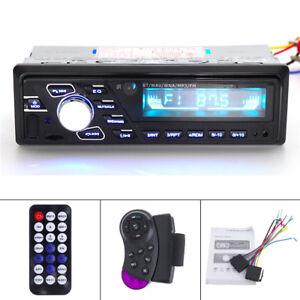Car-Stereo-Audio-In-Dash-FM-Aux-Input-TF-USB-steeing-wheel-control-Bluetooth-MP3