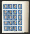Ryukyu Islands 161 1968 Seashell Marine Life 100 sheets of 20 NH