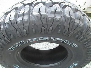 4 New 33x12 50r15 Milestar Mud Tires 33125015 33 12 50 15 M T Mt
