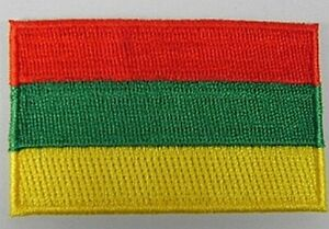 Litauen-Aufnaeher-gestickt-Flagge-Fahne-Patch-Aufbuegler-6-5cm-neu