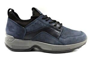 IGIeCO-4114522-Blu-Sneakers-Scarpe-Uomo-Calzature-Casual