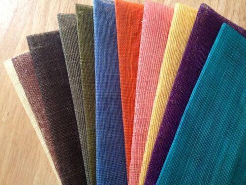 BELLISSIMO tessuto Pack 4or 7 x 15x45 Rinforzato Qualità Copricapo da £ 9.99 Inc P P