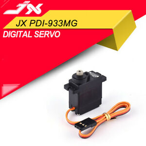 JX-PDI-933MG-4-8V-6V-3-5KG-Torque-Full-Metal-Gear-For-4CH-Heli-1-18-RC-Car