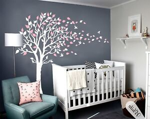 Details About Wall Art Decal Mural Tree Ing Vinyl Nursery Baby Kids Room Decor New