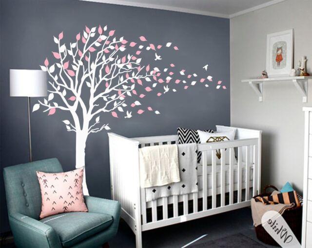 Wall Art Decal Mural Tree Ing Vinyl Nursery Baby Kids Room Decor New