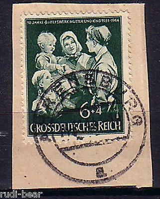 Hilfswerk Mutter Und Kind Schnelle WäRmeableitung 870 Gest Offen Deutsches Reich Nr