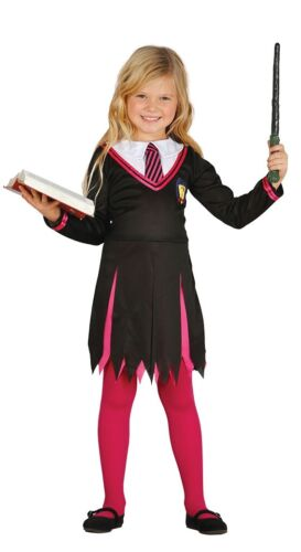 Girls Rosa guidata Halloween TV BOOK Film Costume Outfit 5-12 anni