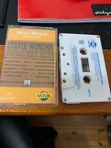 STEVIE-WONDER-GREATEST-HITS-Cassette-Tape