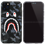 Bape-Camo-Shark-Glow-in-the-dark-Hard-Case-Cover-For-iPhone-11-Pro-Max-XS-XR-8-7 miniature 3