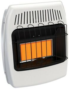 Wall Heater 18 000 Btu Infrared Vent Free Natural Gas