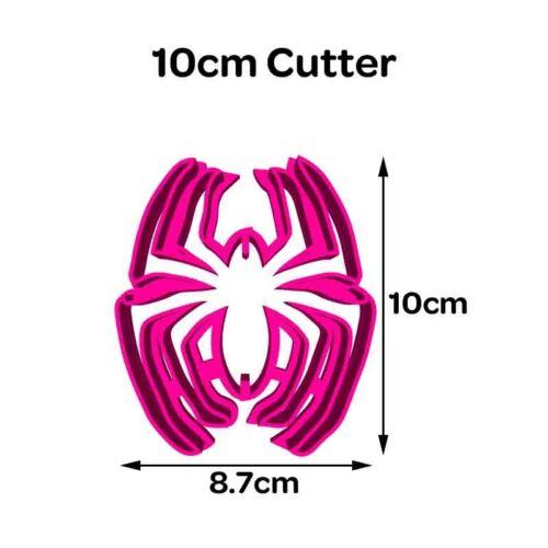 Spiderman Spider #2 Cookie Fondant Cutter 5cm 7cm 10cm Set Cake Decorating Tools