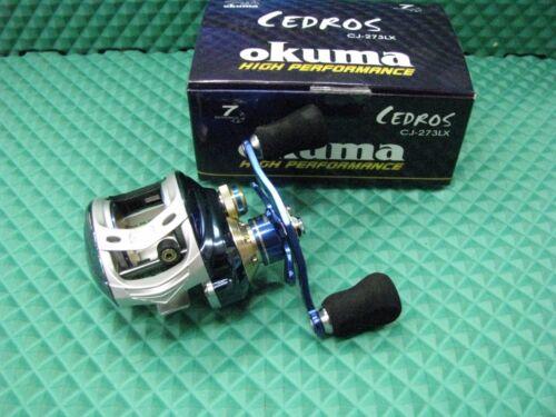 Okuma Cedros Saltwater Low-profile LEFT HAND RETRIEVE Baitcast Reel CJ-273LX