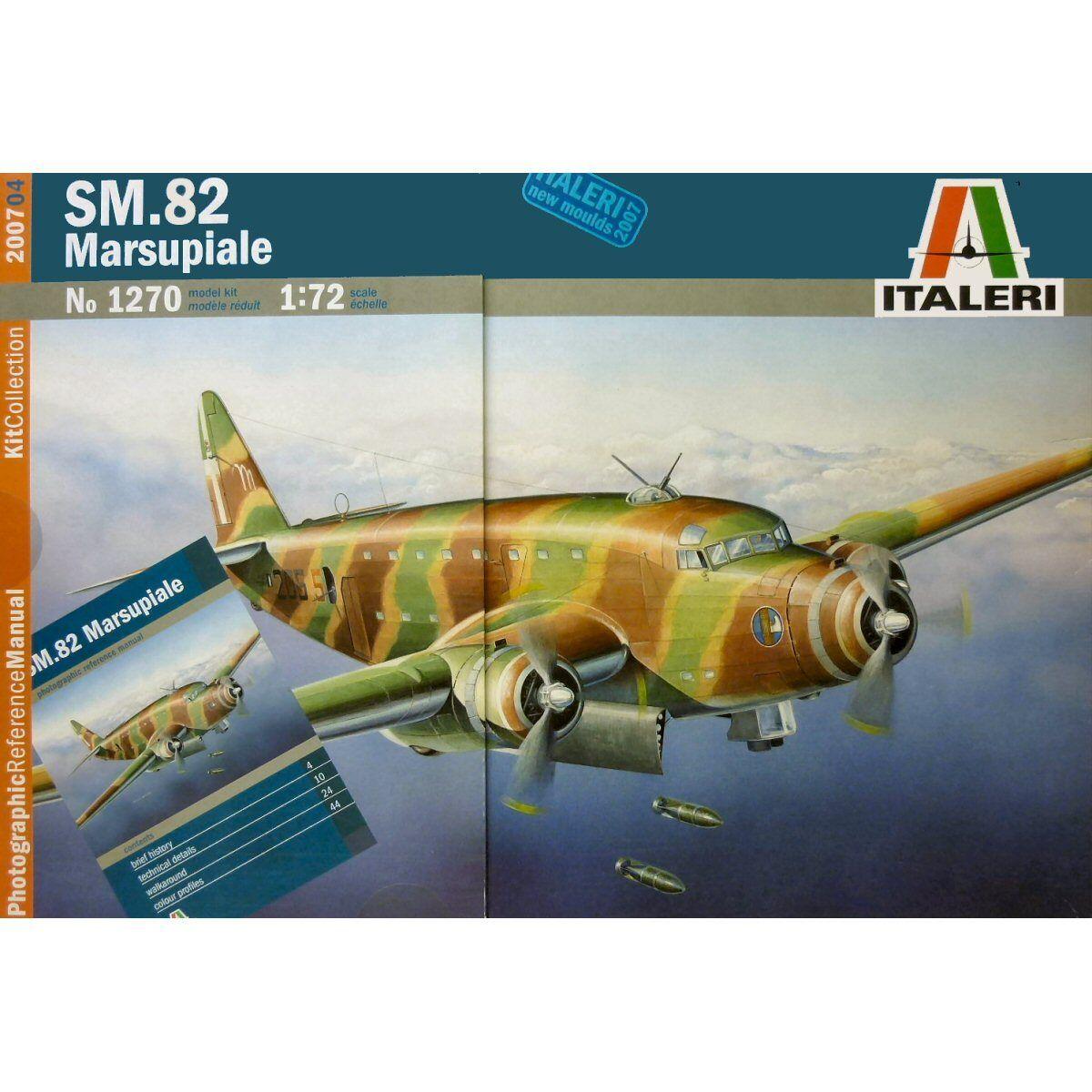 Italeri 1270 Savoia Marchetti SM.82 Marsupiale 1 72 scale plastic model kit