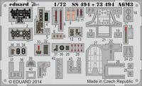 Eduard Zoom SS494 1/72 Mitsubishi A6M3 Zero Model 32 Hamp Tamiya