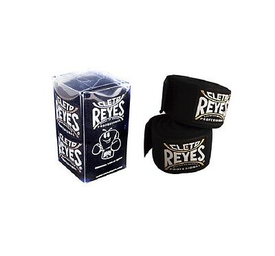 Cleto Reyes Boxing Hand Wraps Hook /& Loop HandWraps 4.5m Cotton Hand Bandages