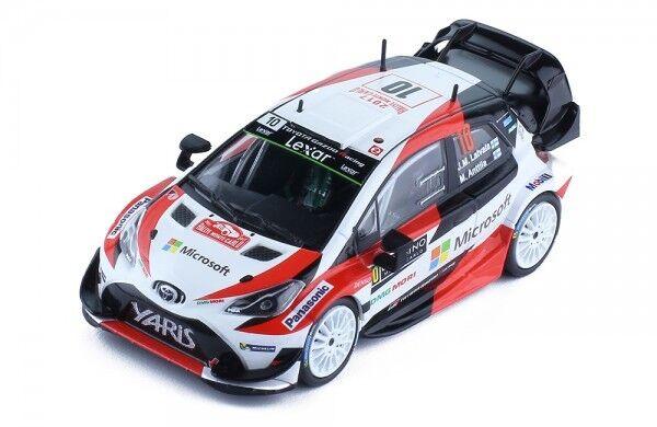 1 43 Toyota Yaris WRC Gazoo Racing Rally Monte Carlo 2017  J.M.Latvala