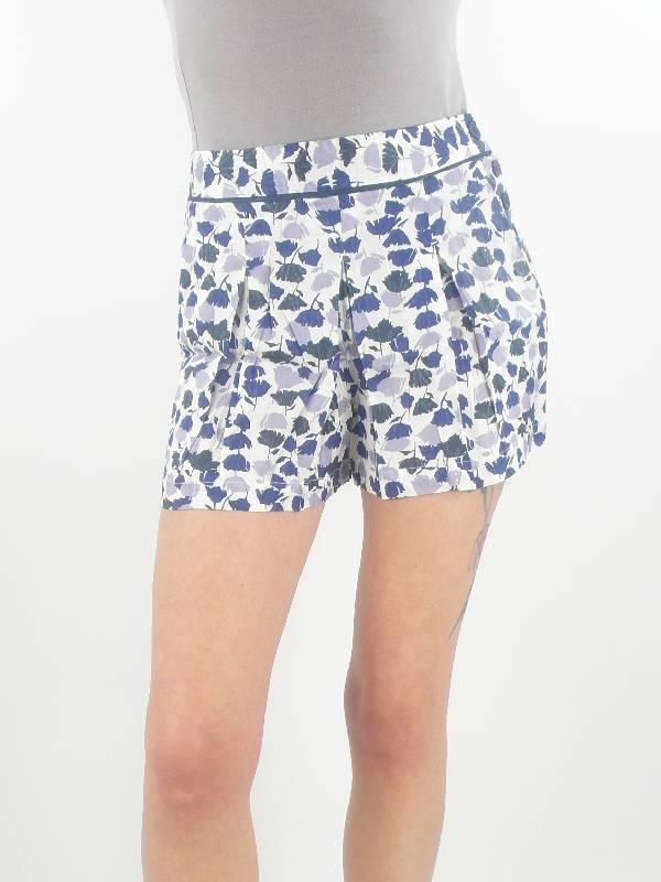 Pepe Jeans corto Pantaloni ULA BIANCO blu con bottoni seta-arte NUOVO