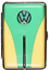 縮圖 5 - Cigarette Case 12 King Size / VW Trim / Metal/Rubber Band / 2seitig/4 Colours