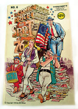 The Comic Book Price Guide #6 Overstreet Spirit of 76 Issue Eisner Art Softcover