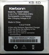 100% ORIGINAL BATTERY FOR KARBONN A52+ A52 PLUS KB5D TEMSP1300AA in 1300mAh