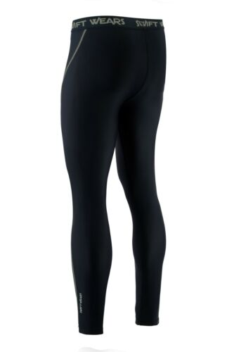 Mens Compression Cycling Tights Cycle Leggings Long Pants Swift Wears