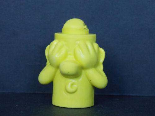 BPZ contour vert Jouet kinder Totem porte crayon jaune NV056 France 2008