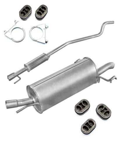ESD MSD Töpfe dazu Montageset passend für Opel Astra G 1199ccm  04//98-09//04