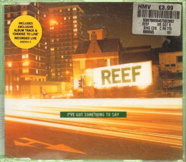 Reef(CD Single)I Got Something To Say-New