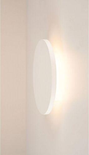 SLV PLASTRA Wandleuchte weißer Gips rund Ø 30cm 3000K LED