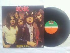 AC / DC HIGWAY TO HELL GERMAN COLLECTORS EDITION 12 INCH VINYL LP ORIGINAL 1979