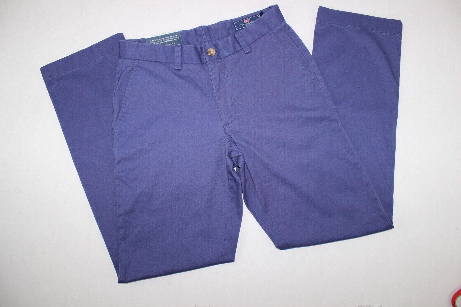 Vineyard Vines Breaker Navy Pants SZ 28 x 32 NWT
