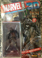 PANTERA NERA/BLACK PANTHER  MARVEL HEROES 3D COLLECTION #17
