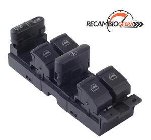 Botonera-elevalunas-interruptor-boton-Seat-Leon-I-Toledo-II-MK1-MK2-Audi-A3-8L