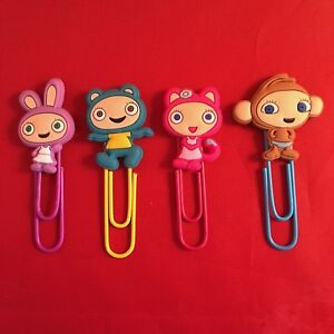 Waybuloo Cartoon Bookmark Paperclip Nok Tok De Li Lau Yojojo Nara Cbeebies New Ebay