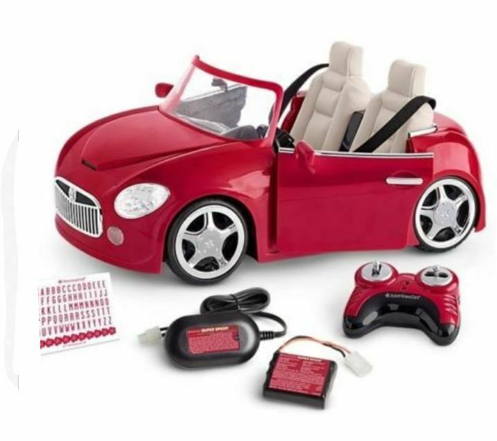 American Girl RC rot Sport voiture NEW IN BOX