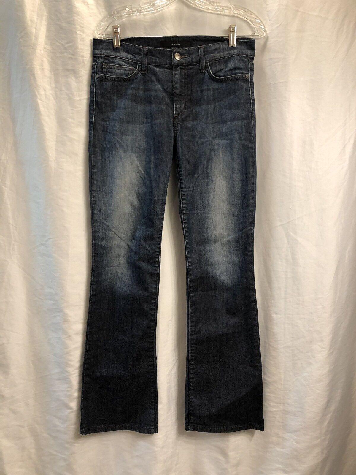 Joes Womens W27 Provocateur Dark Wash Jeans Flare L20P