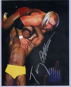 Leaf-Wrestling-Signed-8x10-Photo-Tony-Atlas-Mr-USA-WWE-ECW-Autographed-COA