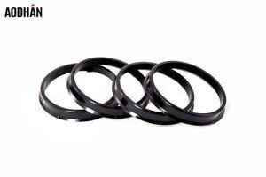 72.6 72.62mm High Quality Plastic Hub Centric Rings 64.1 Set 4 - 64.15