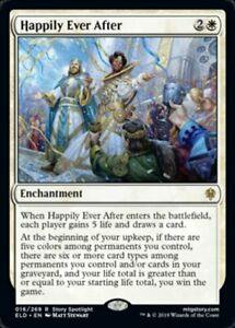 MTG-x4-Happily-Ever-After-Throne-of-Eldraine-RARE-NM-M-Magic-the-Gathering