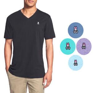 Psycho Bunny By Robert Godley Mens Short Sleeve V Neck T Shirt Size Medium
